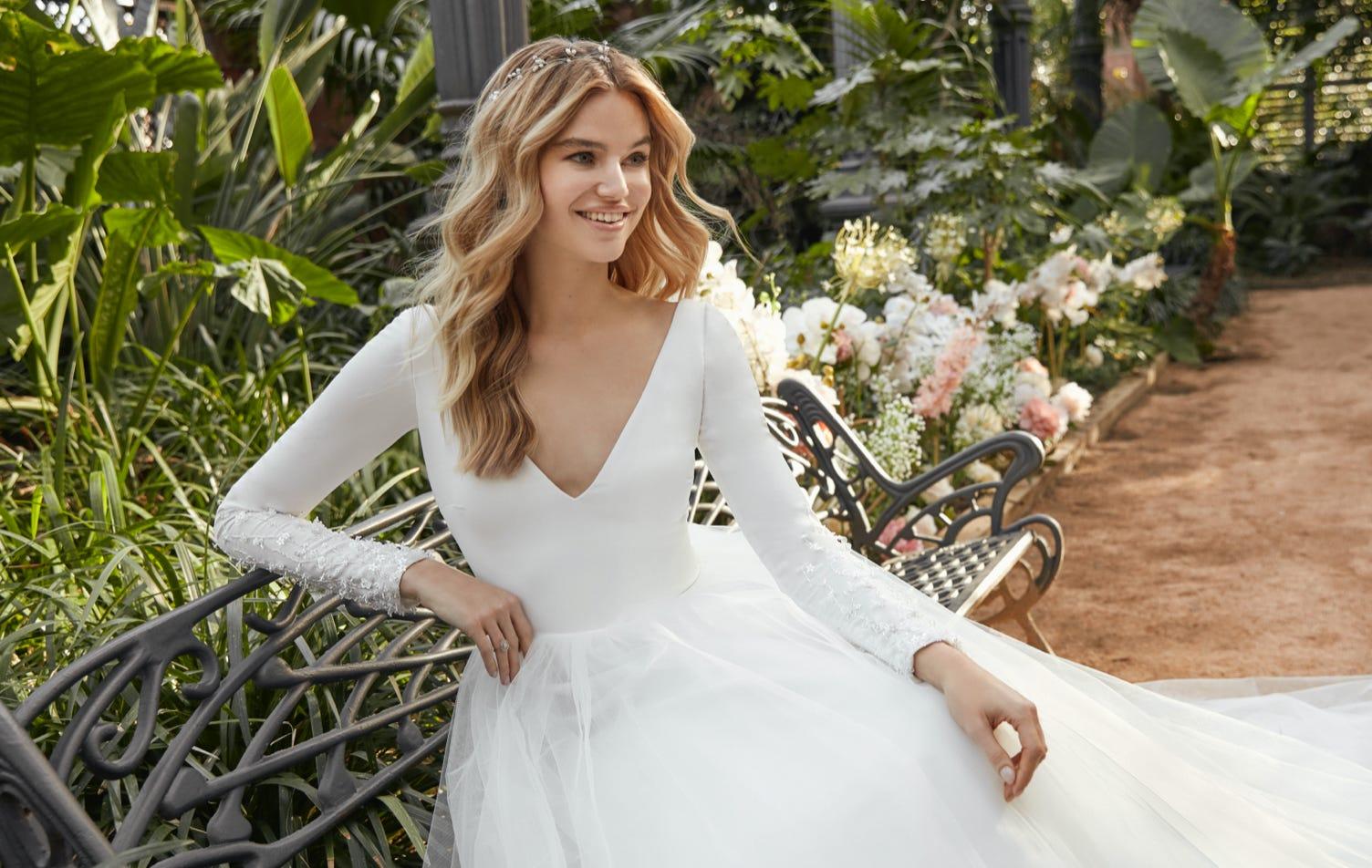 Descubre las tendencias en vestidos de novia para el 2021